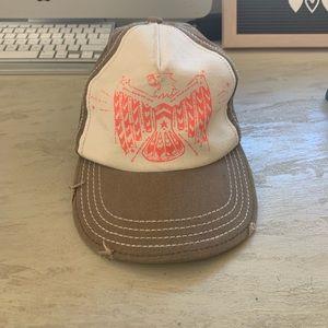 Pink Eagle 🦅Back Button Hat
